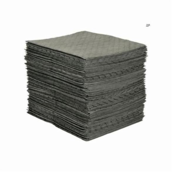 SPC MRO Plus MRO300 Medium Weight Absorbent Pad, 19 in L x 15 in W x 3-Ply THK, 20.5 gal/Bale Absorption