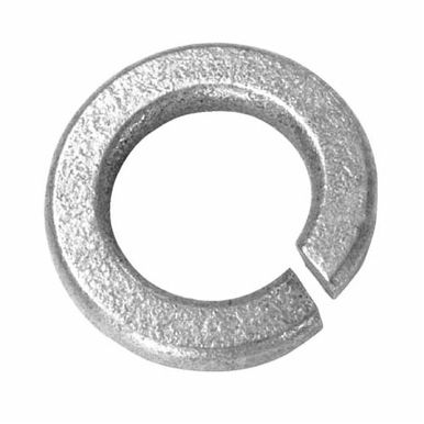 BBI 013006 Hi-Collar Split Lock Washer, Imperial, #5, Medium Carbon Steel, Plain