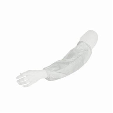 Dupont® TY500SWH00020000 Protective Sleeves, Universal, 18 in L, White, Tyvek®