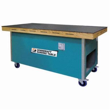 Dynabrade® 64207 Sanding Downdraft Table, 72 in L x 36 in W, 1 hp, 230 VAC, 3000 cfm, 1 micron