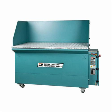 Dynabrade® 64400 Metal Capture Downdraft Table, 60 in L x 36 in W, 3 hp, 230 VAC, 1800 cfm