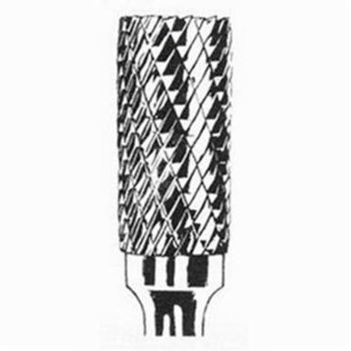 Dynabrade® DynaBurr SA-1 Abrasive Burr, Cylindrical-No End Cut (Shape SA), 1/4 in Dia, Double Cut