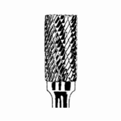 Dynabrade® DynaBurr SA-3 Abrasive Burr, Cylindrical-No End Cut (Shape SA), 9 mm Dia, Double Cut