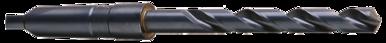 Cleveland C12040 0.1250 HSS Taper Shank Drill 2F RH