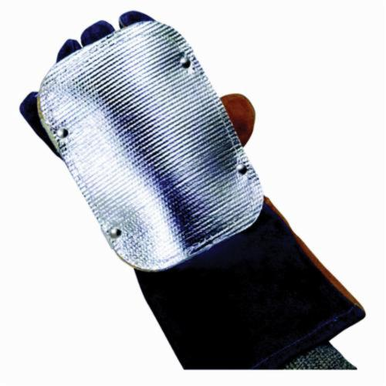 Jackson Safety Wilson 36680 Double Layer Back Hand Pad/Glove Protector, 5-1/2 x 13 in Size Oval Shape, For Use With Gloves, Aluminum Mylar Aluminum/Fiberglass