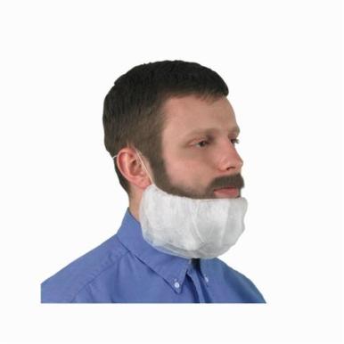 KleenGuard 66815 A10 Light Duty Beard Cover, Universal, White, Polypropylene