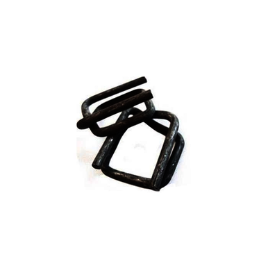 1000/Carton, 0.147 AWG, 5/8 in, Woven, Phosphated Wire Buckle