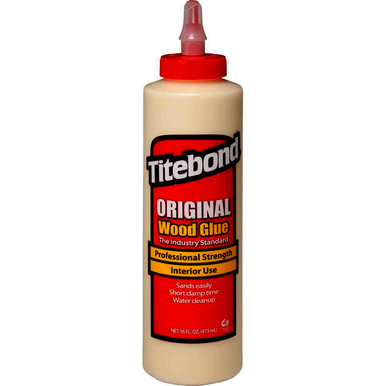 12/Carton, Bottle, 16 oz, Interior, Wood Glue