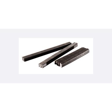 11000/Carton, 50 Carton/Skid, Straight Strip, Bright, 1 x 3/8 in, Corrugated Fastener