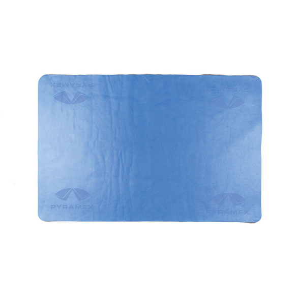 Pyramex® C160 Cooling Towel, 26 x 17 in, Blue, Polyvinyl Alcohol