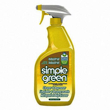 SIMGRE 3010001214002, 24 oz Trigger Spray Bottle, Concentrated, Non-Solvent, Industrial Degreaser/Cleaner