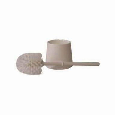 Vortec Pro 75000 Bowl Brush Set, 3-1/2 x 3-3/4 in Brush, 14-1/2 in OAL, Plastic Bristle and Handle, White Bristle