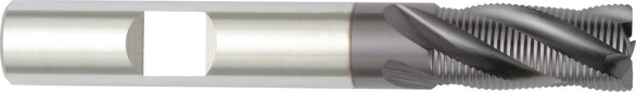 Hanita 2862829 3/4 4F HSS Cobalt End Mill 3 7/8 OAL