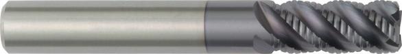 Hanita 3099533 1 6F Solid Carbide End Mill 5 OAL