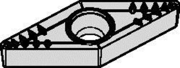 Widia 4168921 VBMT331MP-WM25CT Carbide Turning Insert