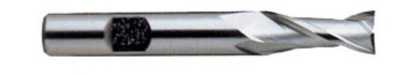 YG-1 01480CN End Mill 2 D 2 Flutes Cobalt, HSS TiN