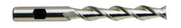YG-1 19055HF End Mill 3/8 D 2 Flutes HSS TiAlN-Futura