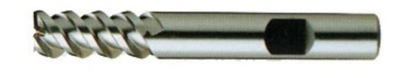 YG-1 20301CC End Mill 5/16 D 3 Flutes Cobalt, HSS TiCN