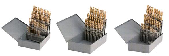 YG-1 D2GP187SET Jobber Length Drill Set HSS-Co8% Gold-P